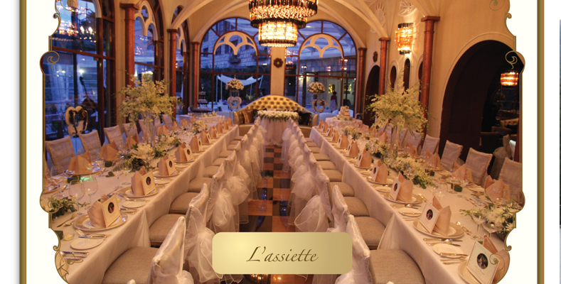 The Chateau Spa & Organic Wellness Resort - L'assiette Table Arrangement