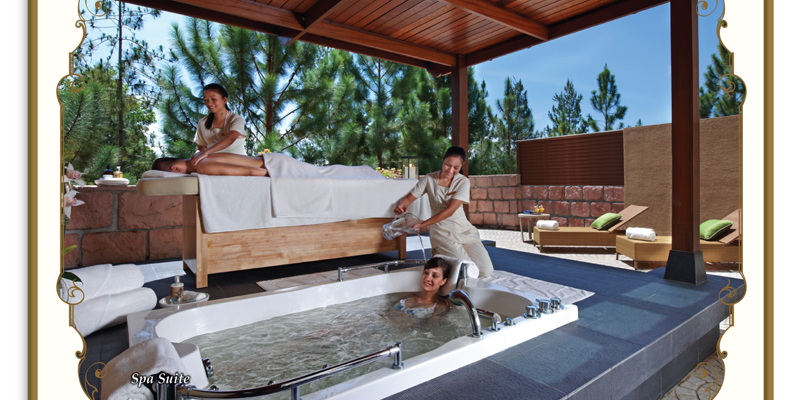 The Chateau Spa & Organic Wellness Resort - Spa Jaccuzi